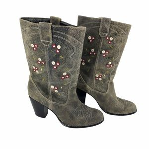 Seychelles western floral embroidery cowgirl boot